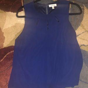 Monteau Navy blouse